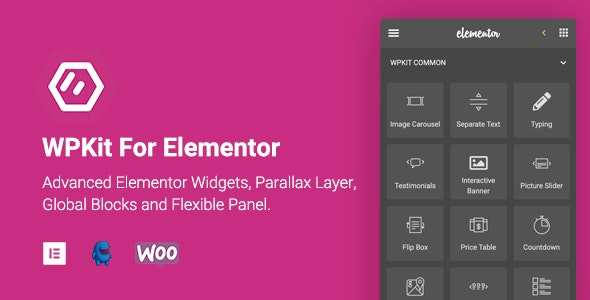 WPKit For Elementor v1.0.5 - Advanced Elementor Widgets Collection & Parallax Layer
