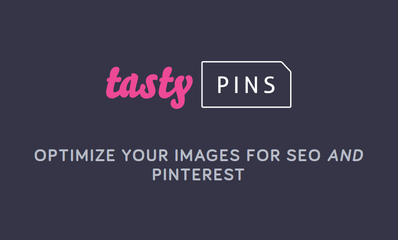 Tasty Pins v1.1.6 - Optimize your images for SEO and Pinterest