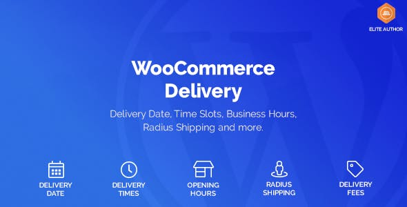 WooCommerce Delivery v1.1.14 - Delivery Date & Time Slots