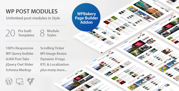 WP Post Modules for NewsPaper and Magazine Layouts v2.9.1