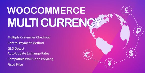 WooCommerce Multi Currency v2.1.10.2 - Currency Switcher