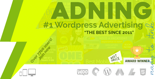 Adning Advertising v1.6.0 - All In One Ad Manager