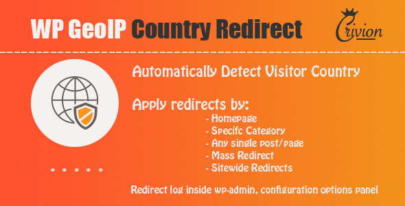 WP GeoIP Country Redirect v3.5