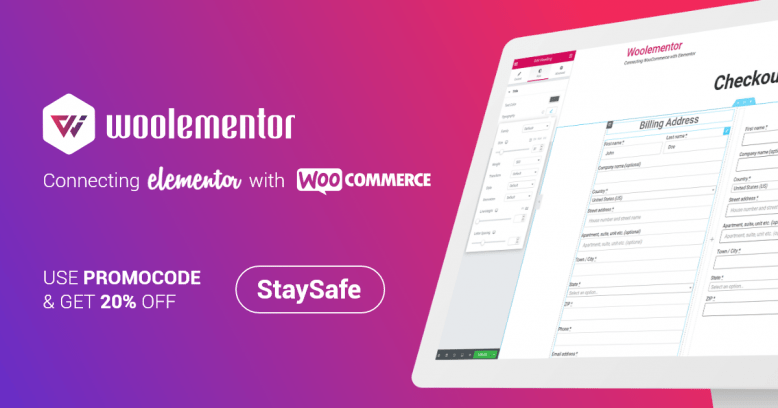 Woolementor Pro v1.6.5 - Connecting Elementor with WooCommerce