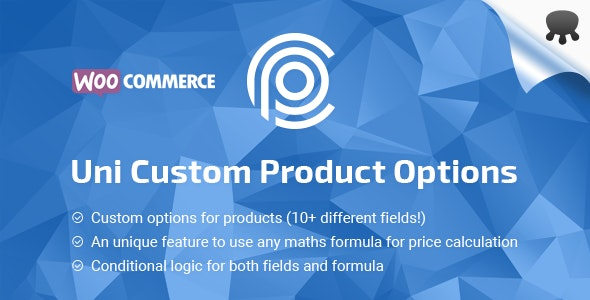 Uni CPO v4.9.5 - WooCommerce Options and Price Calculation Formulas
