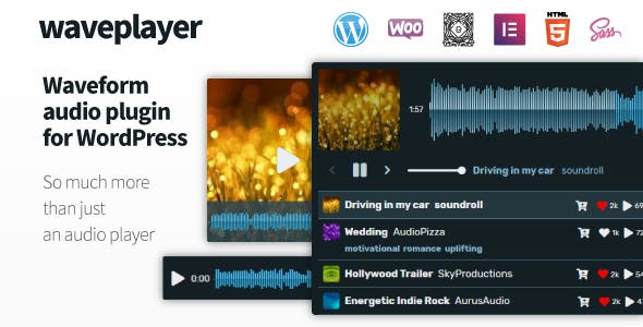 WavePlayer v3.1.3 - Audio Player with Waveform and Playlist