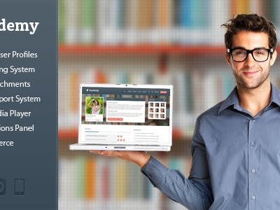 Academy v2.19 Nulled - Learning Management Theme