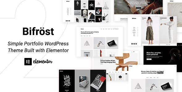 Bifrost v2.1.6 Nulled - Simple Elementor WordPress Theme