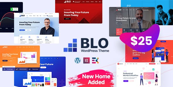 BLO v2.6 Nulled - Corporate Business WordPress Theme