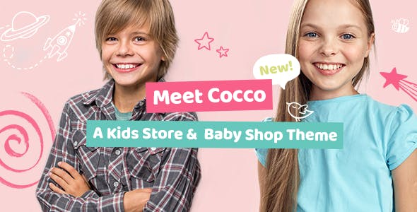 Cocco v1.5.1 Nulled - Kids Store and Baby Shop Theme