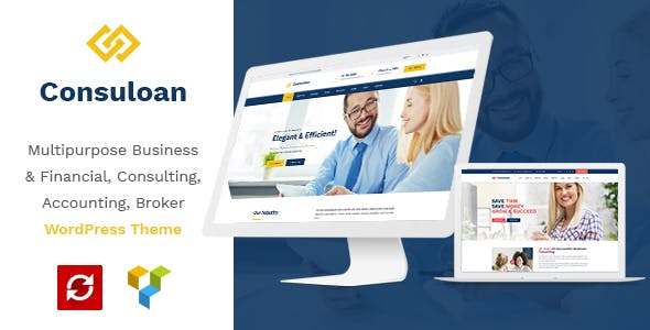 Consuloan v1.0.9 Nulled - Multipurpose Consulting WordPress Theme