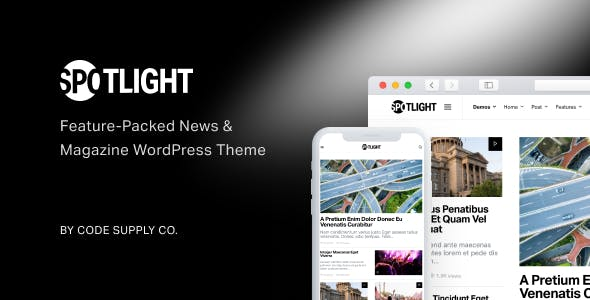 Spotlight v1.6.3 Nulled - Feature-Packed News & Magazine WordPress Theme