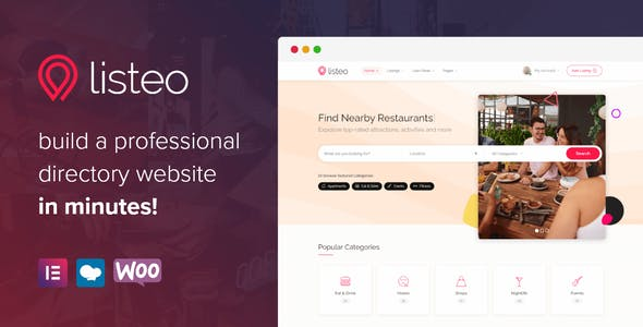 Listeo v1.5.05 Nulled - Directory & Listings With Booking WordPress Theme