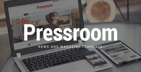 Pressroom v5.2 Nulled - News and Magazine WordPress Theme