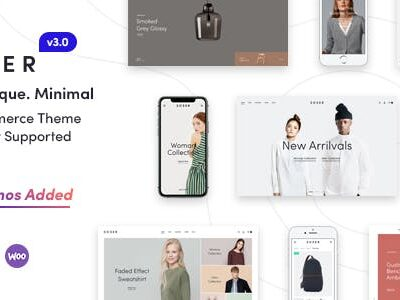 Sober v3.1.1 Nulled - WooCommerce WordPress Theme